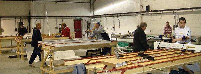 The St Helens factory where we make our frames